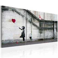 Tablou - There is always hope (Banksy) - triptych