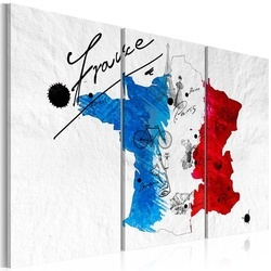 Tablou - Welcome to France! - triptych