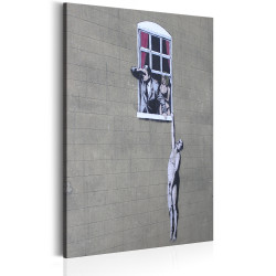 Tablou - Well Hung Lover by Banksy