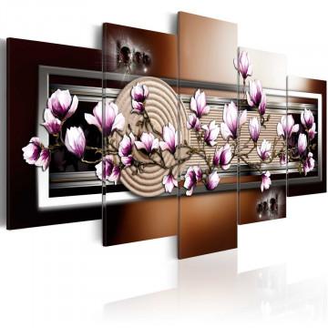 Tablou - Zen garden and magnolia