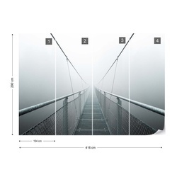 The Path To Infinity Photo Wallpaper Mural