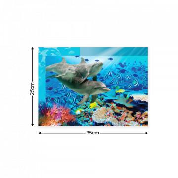 Underwater Canvas Photo Print