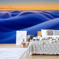Waves Photo Wallpaper Mural