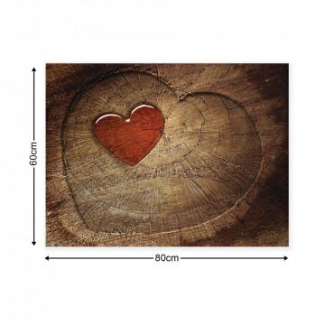 Wood Walls Canvas Photo Print