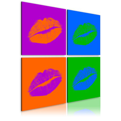 Tablou - Kisses: Pop art