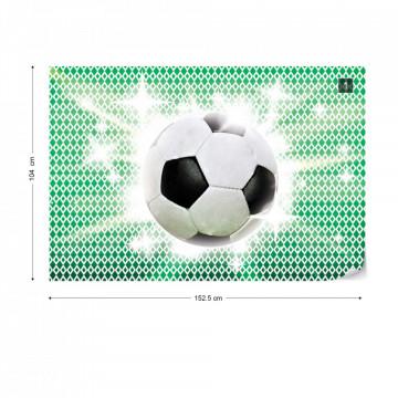 3D Football Photo Wallpaper Wall Mural
