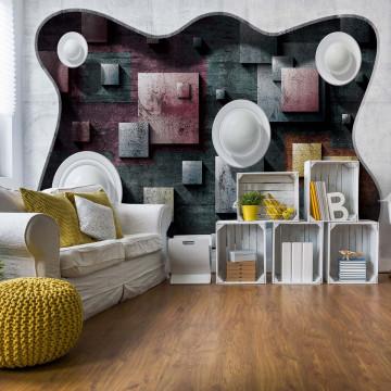 3D Modern Abstract Design Photo Wallpaper Wall Mural