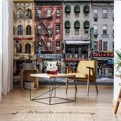 A Cold Day In Ny Photo Wallpaper Mural