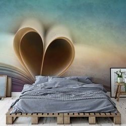 A Love Story Photo Wallpaper Mural