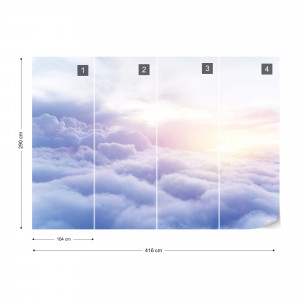 Above The Clouds Sky Photo Wallpaper Wall Mural