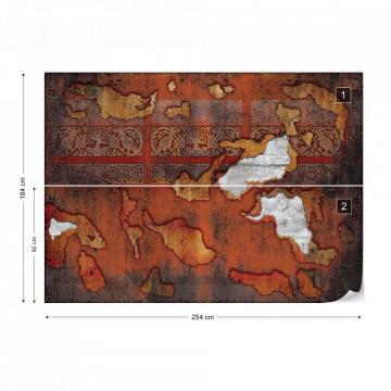 Adult Mural Wallpaper Textures & Effects Grunge Walls Photo Wallpaper Wall Mural