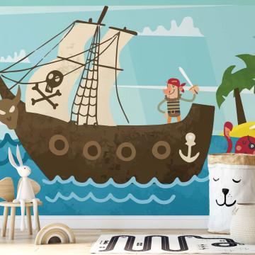 Captain Buckle Set's Sail