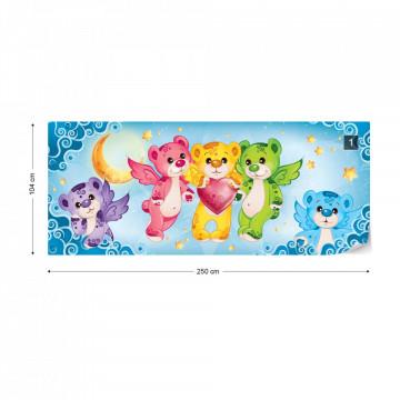 Care Bears Heart Photo Wallpaper Wall Mural