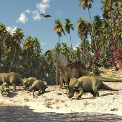 Dinosaurs Photo Wallpaper Wall Mural