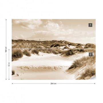 Dune Paradise in Sepia