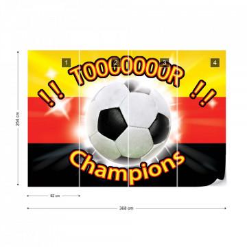 Football Germany Champions Photo Wallpaper Wall Mural