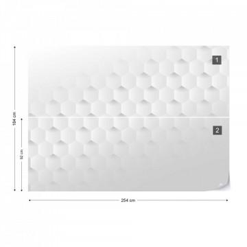 Fototapet 3D – Model Hexagonal