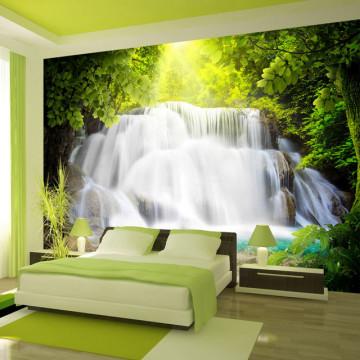 Fototapet - Arcadian waterfall