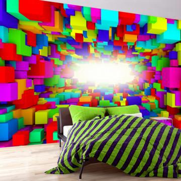 Fototapet autoadeziv - Light In Color Geometry
