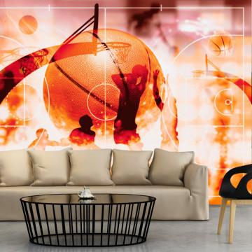 Fototapet autoadeziv - My Sport: Basketball