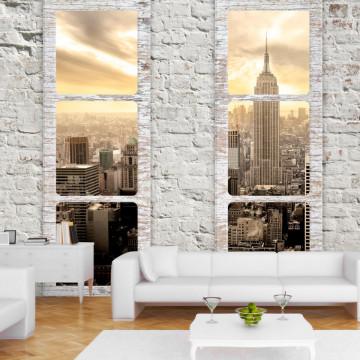 Fototapet autoadeziv - New York: view from the window