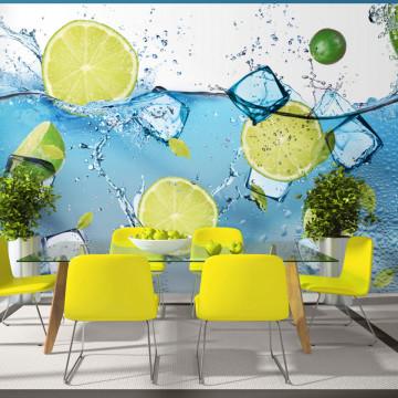 Fototapet autoadeziv - Refreshing lemonade