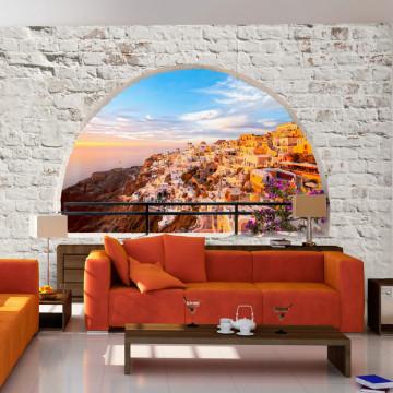 Fototapet autoadeziv - Santorini