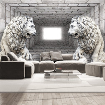 Fototapet autoadeziv - Stone Lions