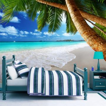 Fototapet autoadeziv - Tropical island