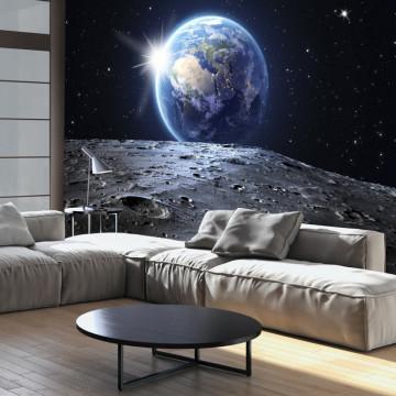 Fototapet autoadeziv - View of the Blue Planet