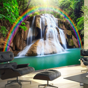 Fototapet autoadeziv - Waterfall of Fulfilled Wishes