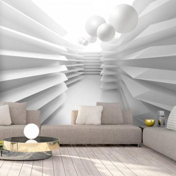 Fototapet autoadeziv - White Maze