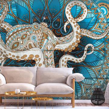 Fototapet autoadeziv - Zen Octopus