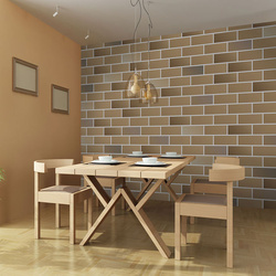 Fototapet - Bright brick wall