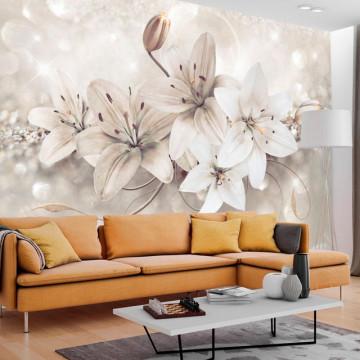 Fototapet - Diamond Lilies