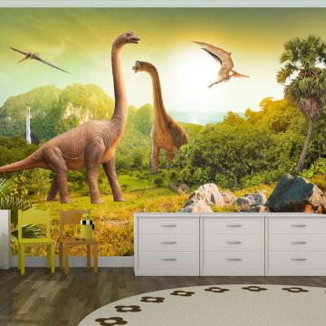 Fototapet - Dinosaurs