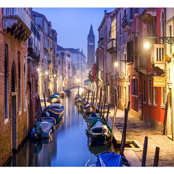 Fototapet - Evening in Venice