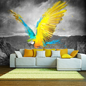Fototapet - Exotic parrot