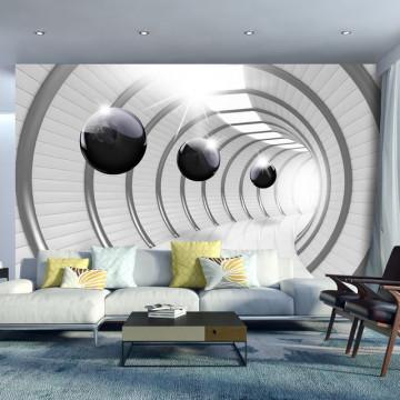 Fototapet - Futuristic Tunnel