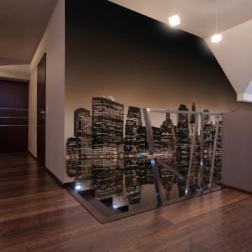 Fototapet - New York - sepia