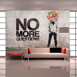 Fototapet - No more questions