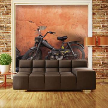 Fototapet - Old moped