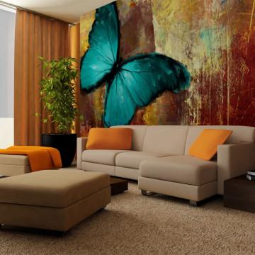 Fototapet - Painted butterfly