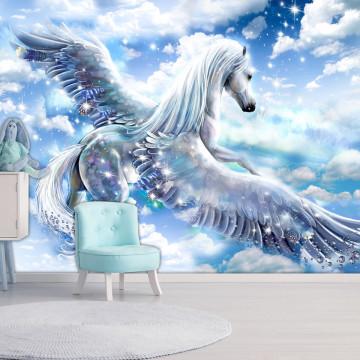 Fototapet - Pegasus (Blue)