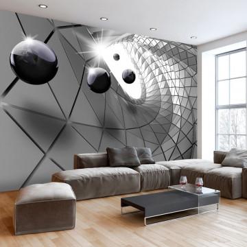 Fototapet - Steel Illusion