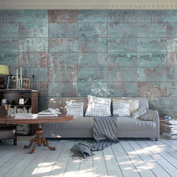 Fototapet - Turquoise Concrete