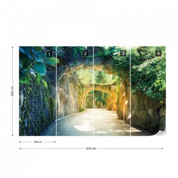 Garden Tunnel Photo Wallpaper Wall Mural