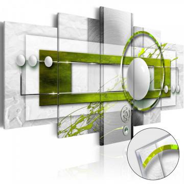Imagine pe sticlă acrilică - Green Energy [Glass]