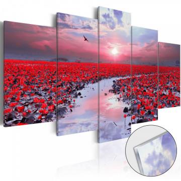 Imagine pe sticlă acrilică - The River of Love [Glass]