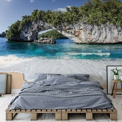 Island Beach Photo Wallpaper Wall Mural